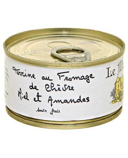 Terrine au Fromage de Chèvre Miel et Amandes