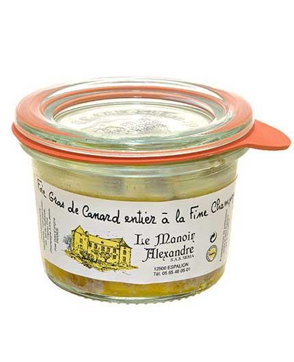 Foie Gras de Canard Entier à la Fine Champagne