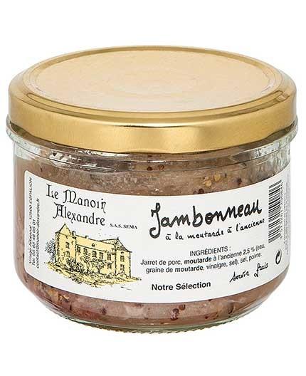 Jambonneau à la Moutarde à l'Ancienne