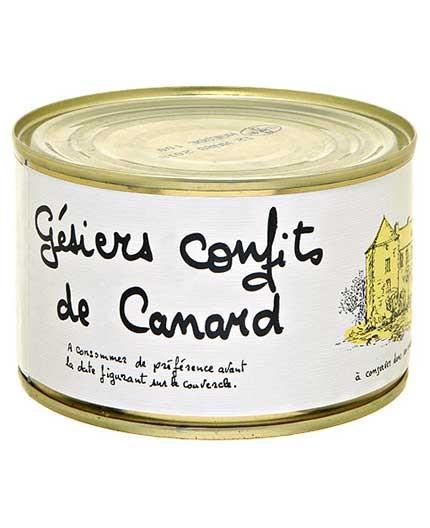 Gésiers Confits de Canard
