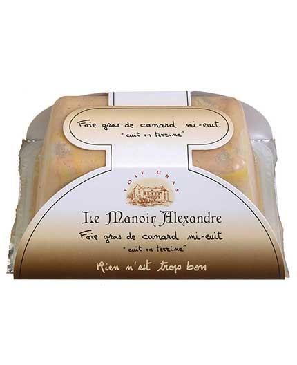 "Foie Gras de Canard Mi-Cuit ""Cuit en Terrine"""