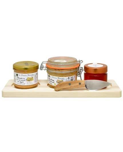 Planche Foie Gras - Plateau en Bois Certifié Contact Alimentaire