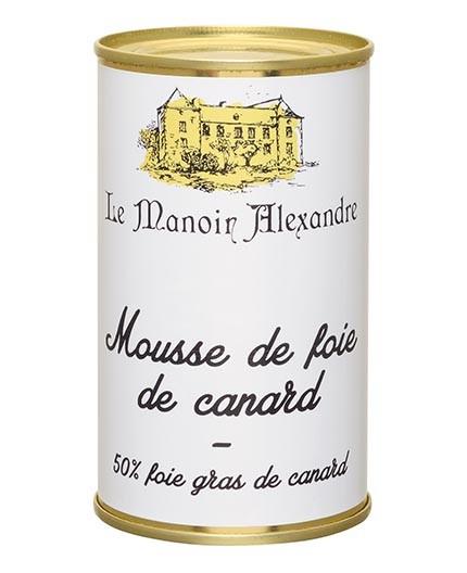 "Mousse de Foie de Canard ""50% Foie Gras de Canard"""