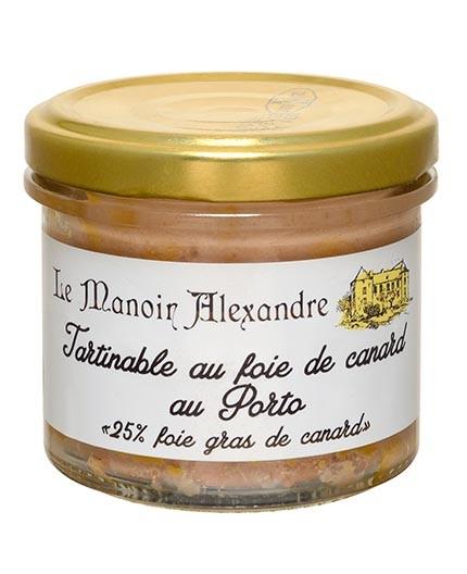 "Tartinable au Foie de Canard au Porto ""25% Foie Gras de Canard"""